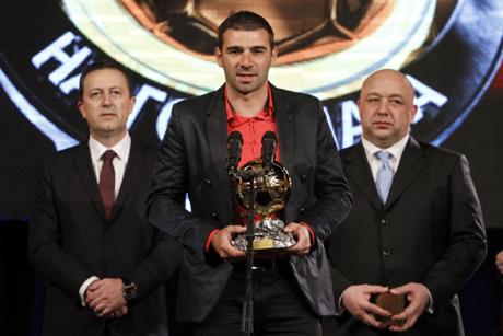 Владислав Стоянов е най-добрият български футболист за 2014 година!