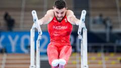 Българският представител Дейвид Хъдълстоун отпадна в квалификациите по спортна гимнастика