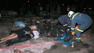 153 станаха жертвите на пожара в руската дискотека