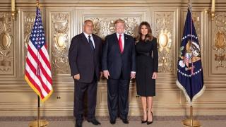 Борисов очаква анализи на своя снимка с Тръмп и Мелания