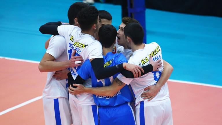 С дербито Арда - Славия се подновява втората осмица на волейболната Суперлига