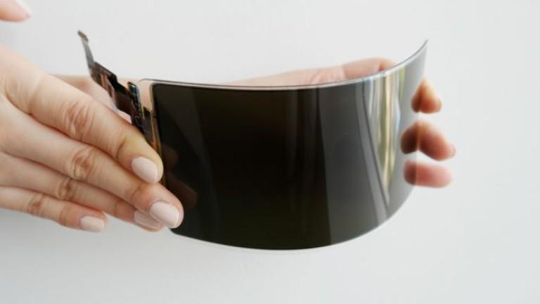 Снимка: Samsung представи нечуплив огъваем екран за смартфони