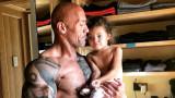 Дуейн Джонсън, дъщеря му Жасмин и малките нещата, които го правят щастлив