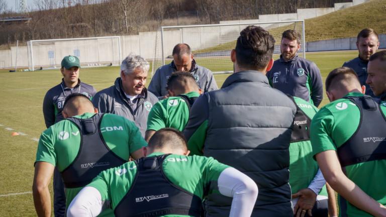 Треньорът на Лудогорец Стойчо Стоев по всяка вероятност ще върне