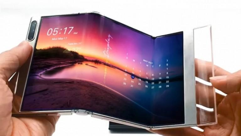 Кой показа бъдещето на мобилните екрани