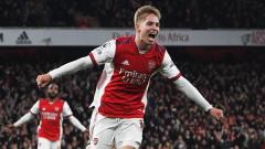Арсенал продължава да лети във Висшата лига