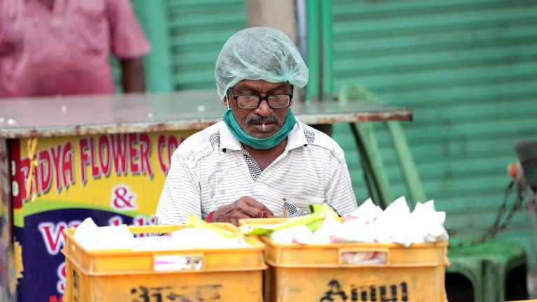 Индия, страната, която е най-силно засегната в Азия от пандемията