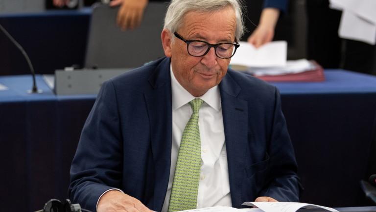 Председателят на Европейската комисия Жан-Клод Юнкер отправи ново предупреждение към