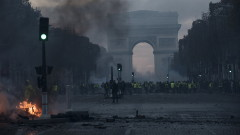 Около 1,5 млн. евро са щетите от сблъсъците в Париж