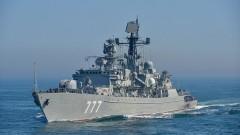 Руски боен кораб вдигна на крак британския флот