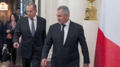 """Шойгу и Лавров отговориха на призива на САЩ към Русия да бъде """"нормална страна"""""""