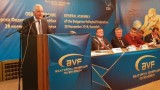 Президентът на ЦЕВ с благодарност към волейболната ни федерация и Данчо Лазаров