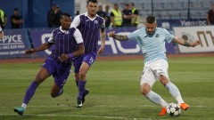 Етър победи Дунав с 4:2 в голов трилър в Русе
