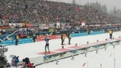 Норвегия спечели смесената щафета на 4 по 6 км на Световното по биатлон