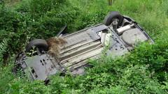Две момичета пострадаха при катастрофа край Благоевград