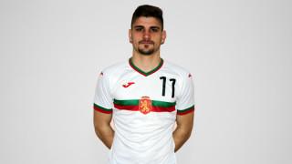 Освободиха Преслав Боруков от лагера на България U21