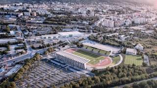 Стадионът в Шумен се сдобива с изцяло нов облик