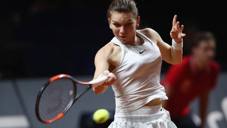Симона Халеп и Гарбине Мугуруса отказаха участие на турнира на клей в зала в Щутгарт