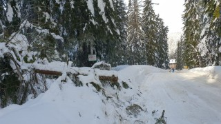 Откриха замръзнала в преспа жена край село Баланово