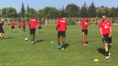 ЦСКА започна подготовка за Етър