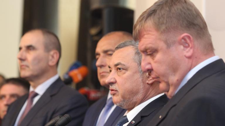 Борисов не се разбра с патриотите, продължава пазарлъка, за да не падне кабинетът