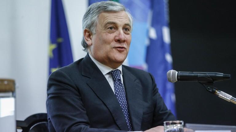 Таяни прие поканата на Берлускони за премиер на Италия