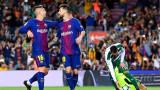 Лионел Меси с девет гола за Барса през сезона, толкова са всичките на Реал
