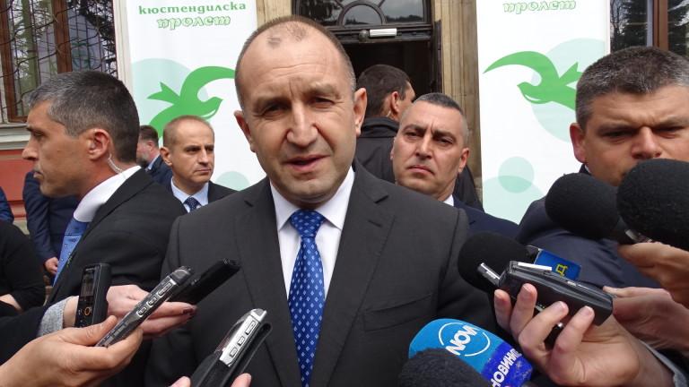 Румен Радев замълча за мотивите на Иво Христов да влезе в евролистата на БСП