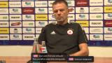 Стойчо Младенов: ЦСКА е в Пилзен за добър турнирен резултат