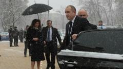Зона за сигурност около парламента за клетвата на петия президент на България