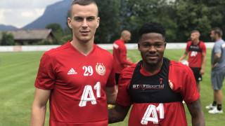 Жоржиньо и Борис Секулич тренираха за сефте с ЦСКА
