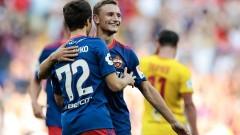 ЦСКА (Москва) с чиста победа преди битката с Лудогорец