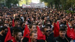 """""""Ченгетата вън от кампусите"""" - гръцки студенти протестират срещу предложение"""