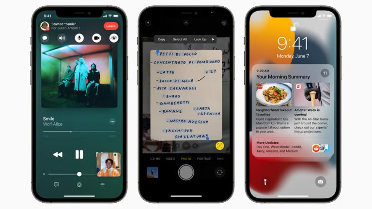 Кои модели iPhone ще получат ъпдейт до iOS 15