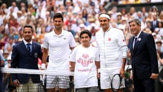 Шоуто Новак Джокович - Роджър Федерер е от 22:00 часа в Лондон