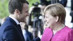 За реформи в ЕС се обявиха Меркел и Макрон