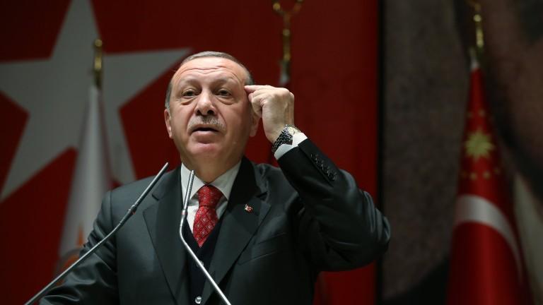 Ердоган изригна срещу САЩ за Йерусалим, ДАЕШ и сирийските кюрди