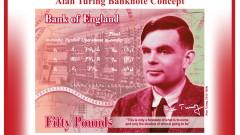 Алън Тюринг на новите £50