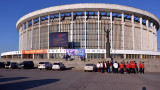 В Санкт Петербург се срути покривът на огромна зала