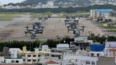 Япония разкритикува САЩ заради военни полети над училище в Окинава