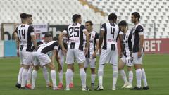 Групата на Локомотив (Пловдив) за мача в Разград