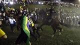 Сблъсъци на протести в 45 града в Бразилия