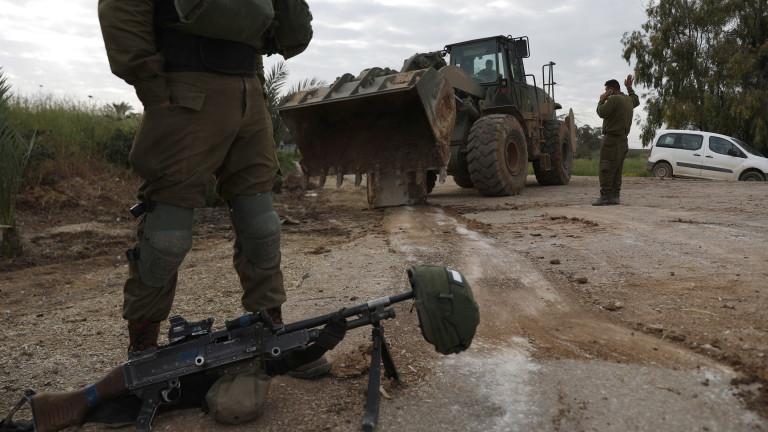 Израелските сили убиха 4 палестинци на границата с Газа