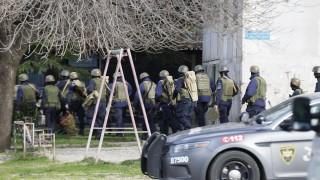 Престрелка при антитерористична операция в Тбилиси