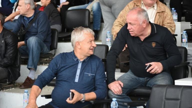 Един от шефовете на Локомотив (Пловдив) Чавдар Цветков направи скандални