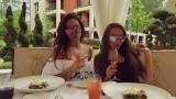 Алисия и Николета - първи приятелки!