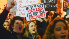 Десетки хиляди на протест за правото на аборт в Ейре