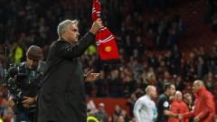 Играчите на Юнайтед също пожелаха уволнението на Моуриньо