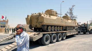 Армията на Египет изпраща сили в Синай, жителите скептични