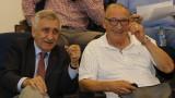 Димитър Пенев тотално се обърка с емблемата на ЦСКА